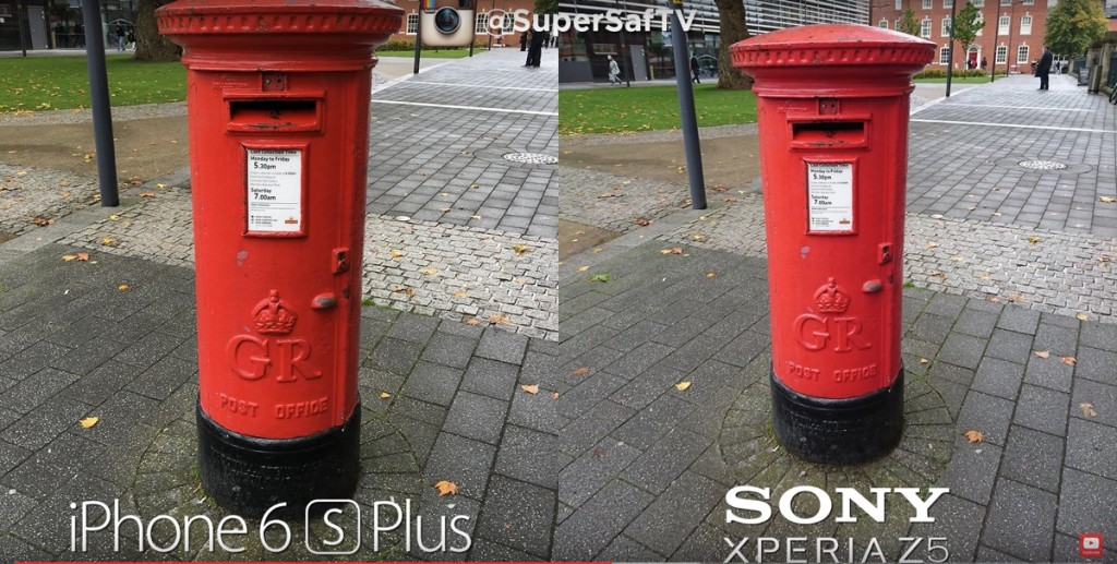 iPhone 6s Plus contro Sony Xperia Z5 1200 ok