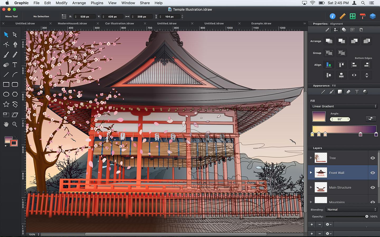 Autodesk Graphic, l'app per il disegno vettoriale pronta per Mac e iPad