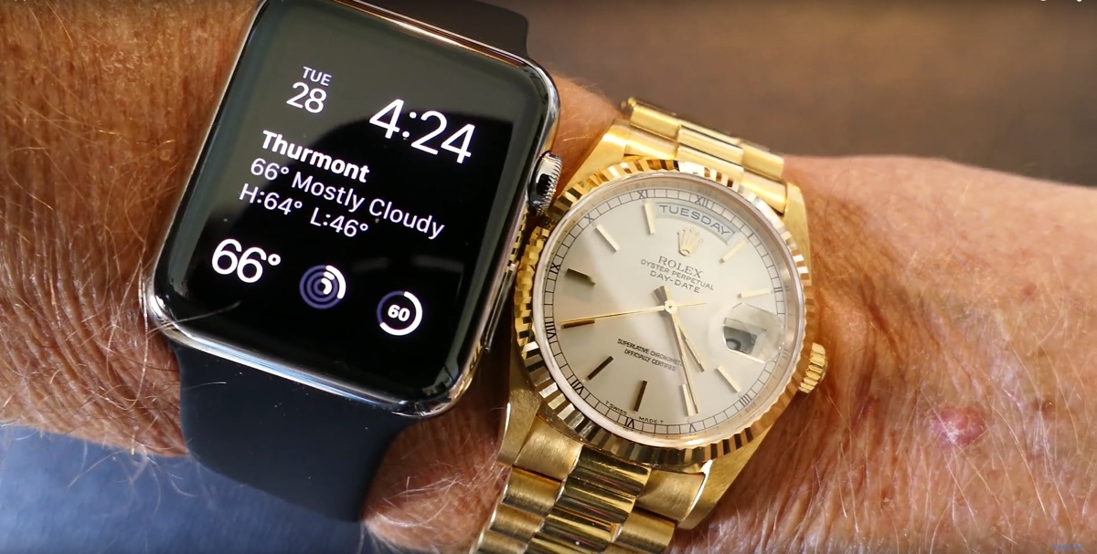 indossabili apple watch rolex 1200