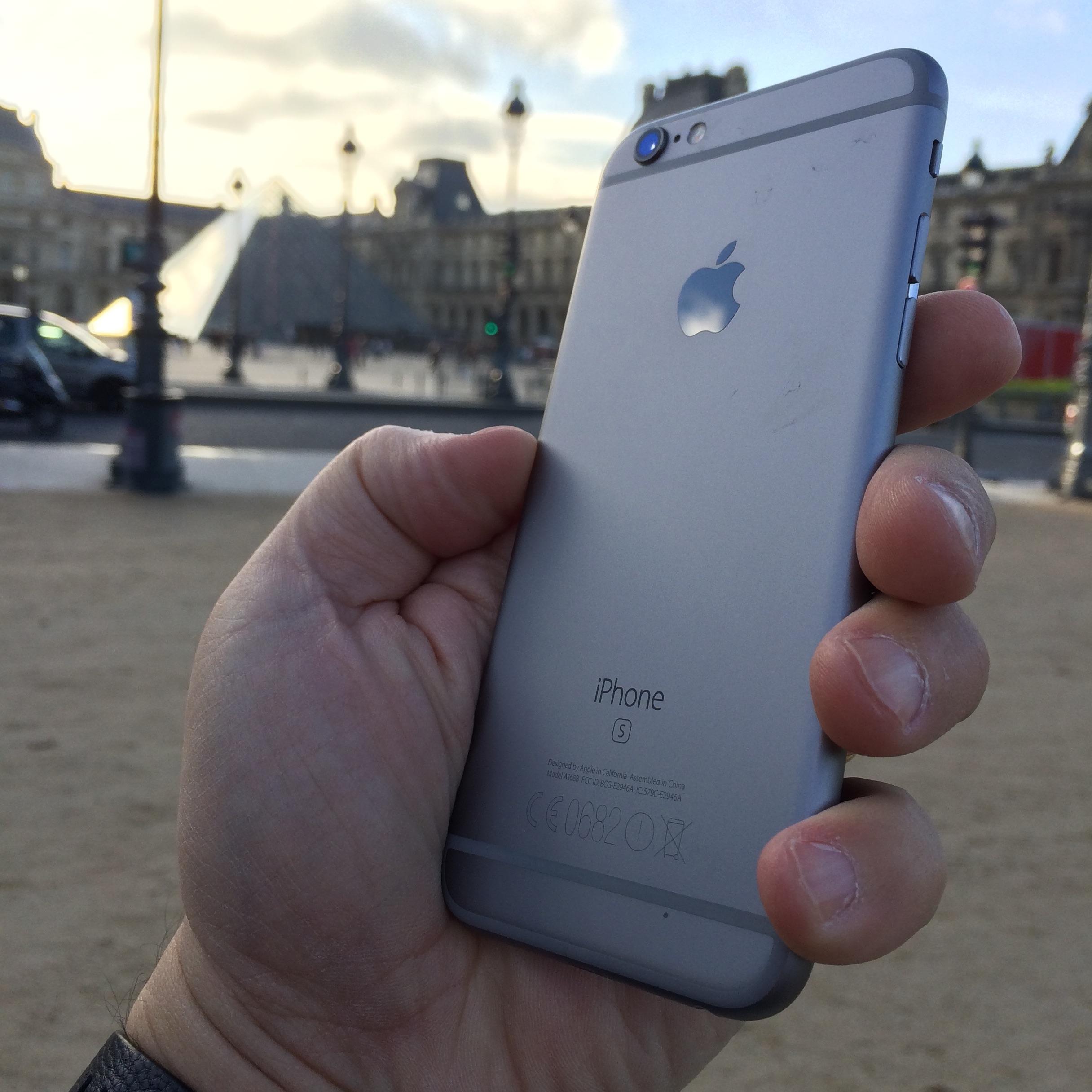iphone 6s paris