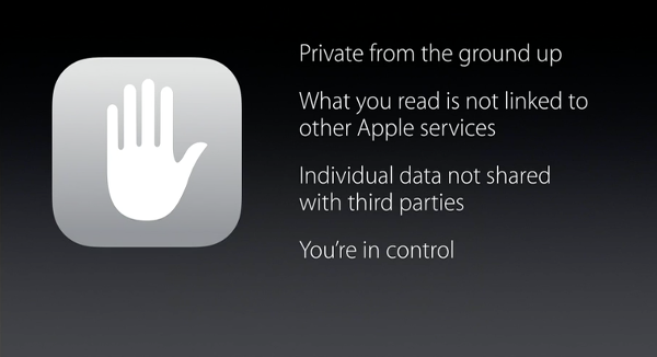 Privacy iOS 9