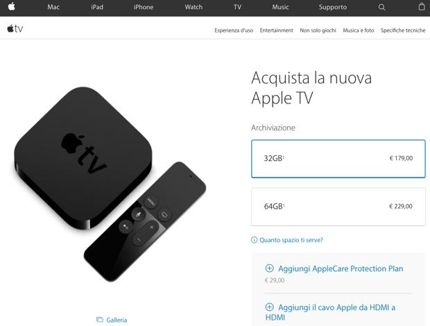 nuova apple tv 4gen 620