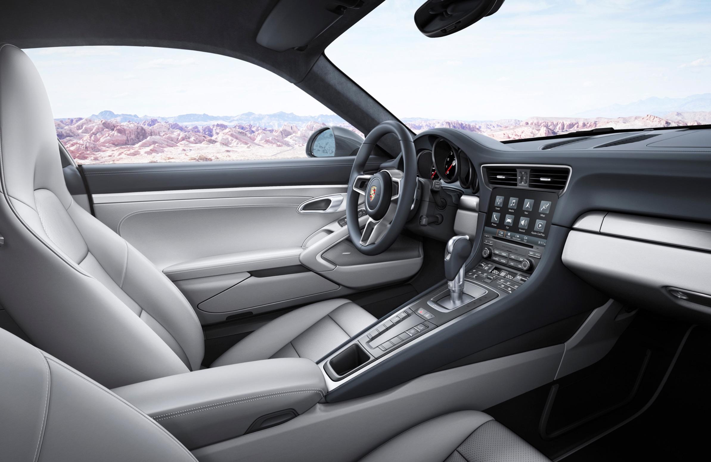 Porsche solo CarPlay