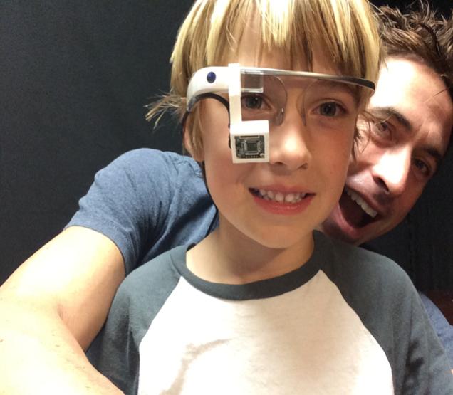 bambini autistici google glass