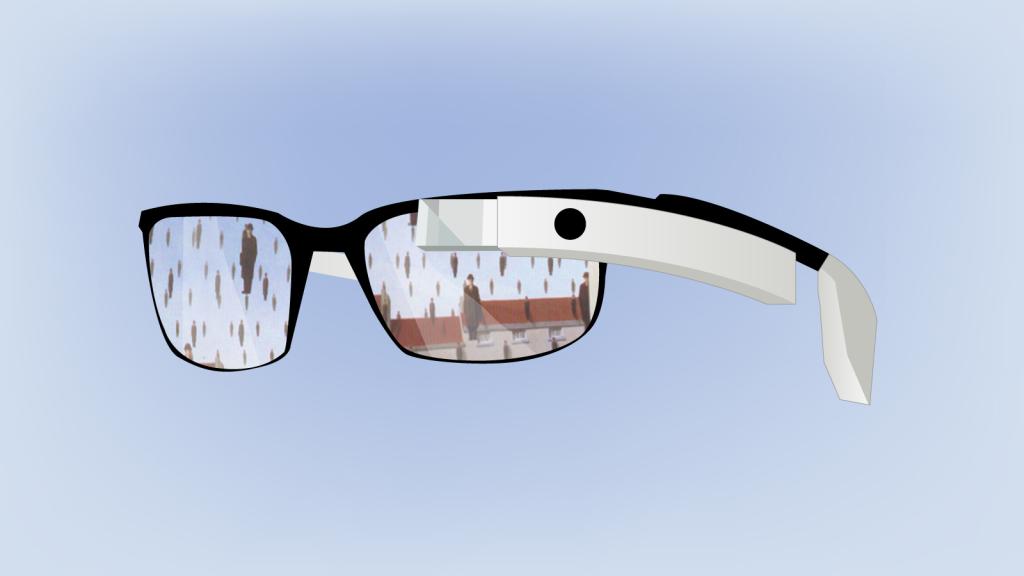 ologrammi google glass