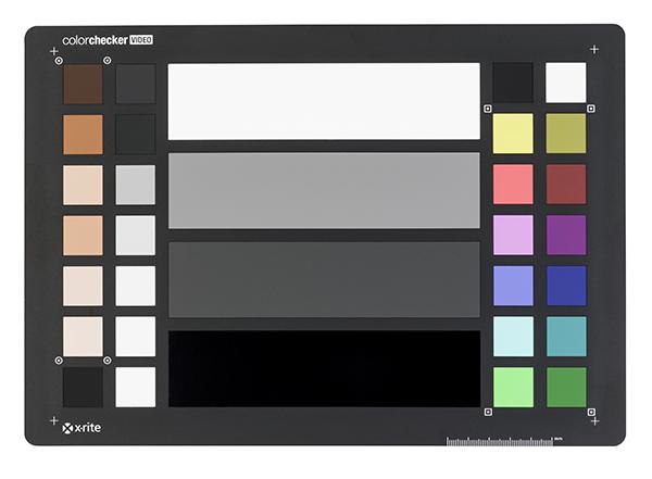 xrite ColorChecker Video