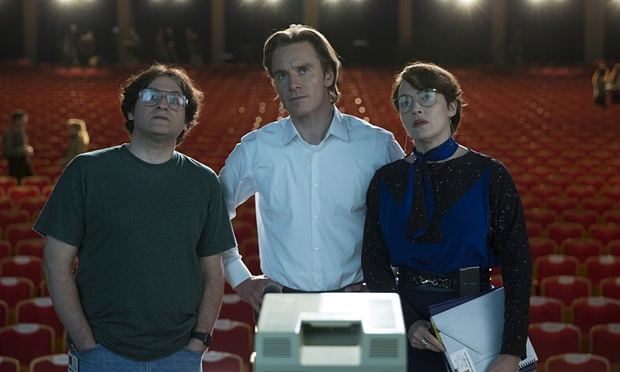 Michael Stuhlbarg, Michael Fassbender e Kate Winslet