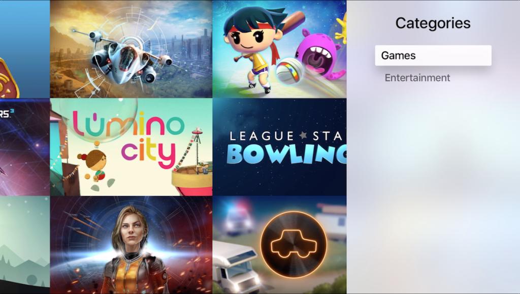 Apple TV categorie