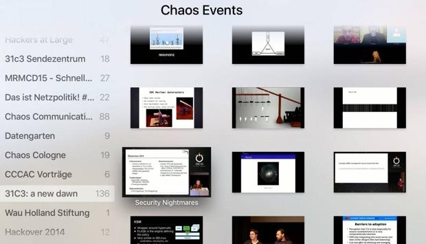 Chaos Computer Club app apple tv