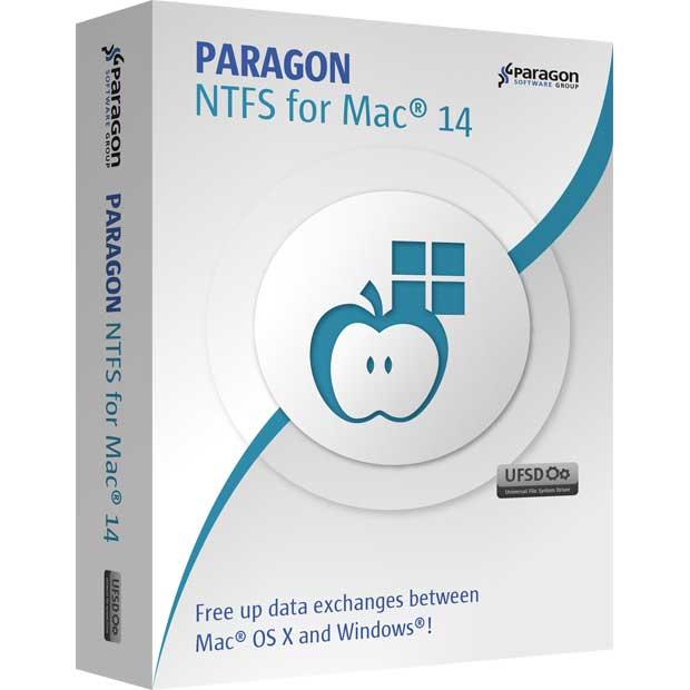 Paragon NTFS per Mac, gratis per chi ha OS X da 10.6 a 10.10