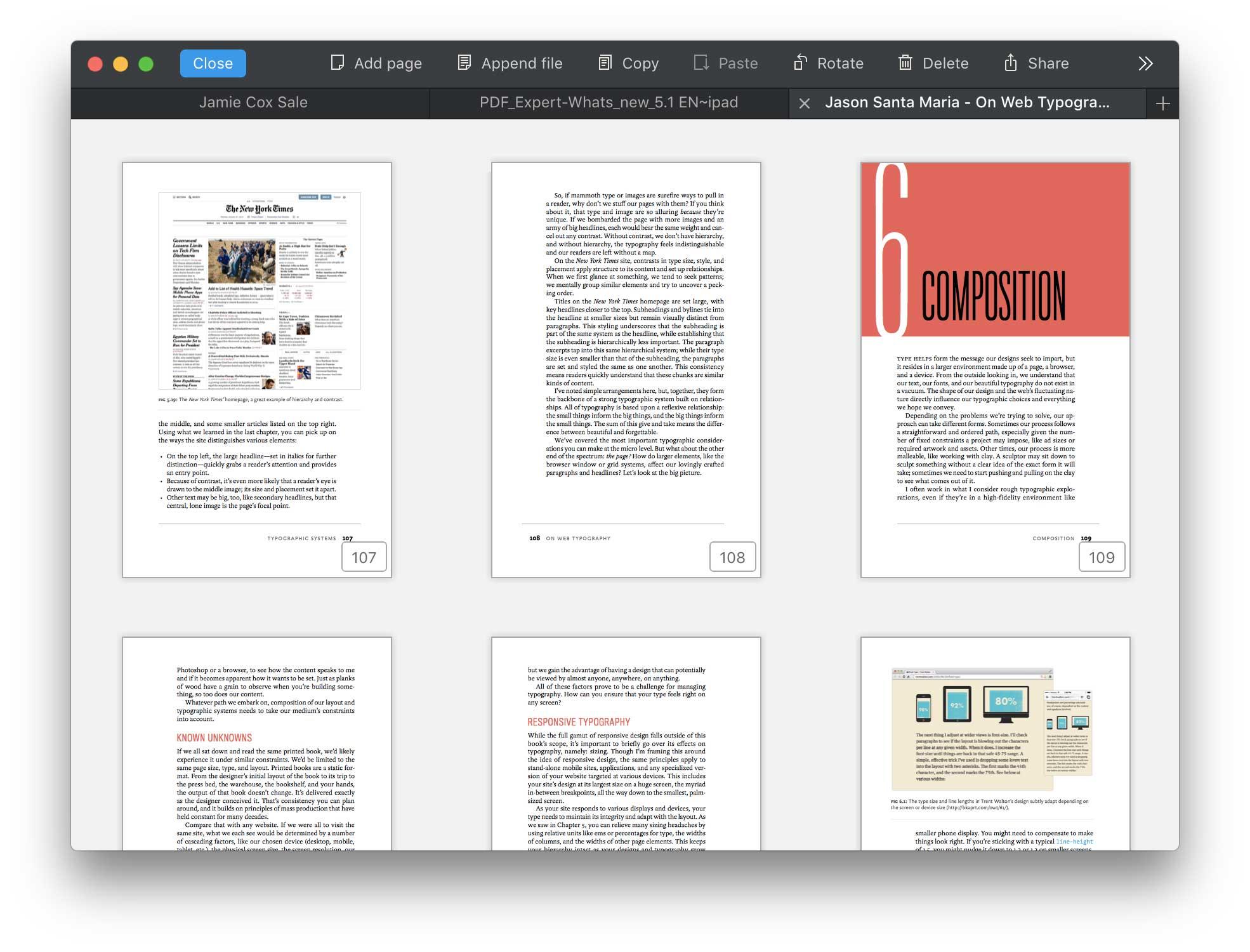 estrarre pagine da pdf