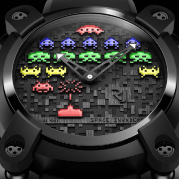 Romain jerome Space Invaders