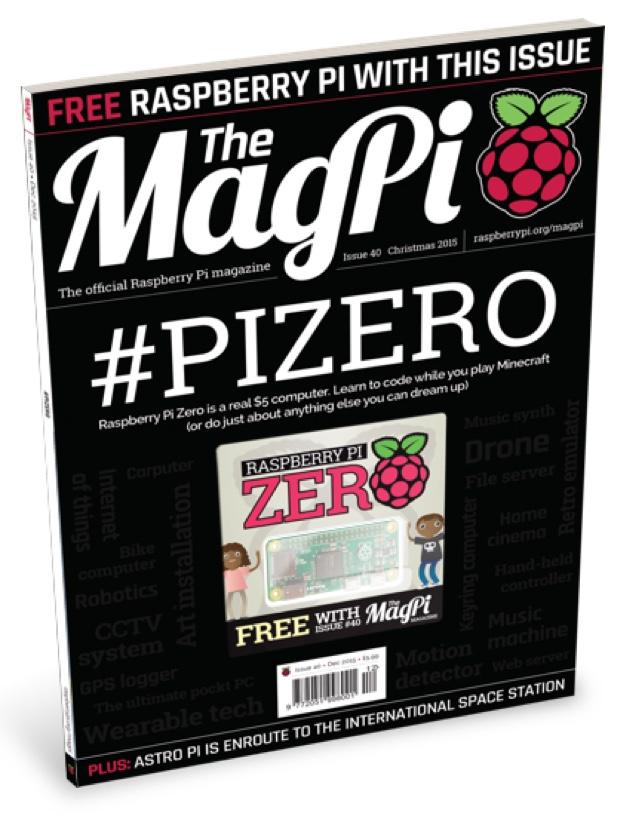 Raspberry Pi Zero rivista