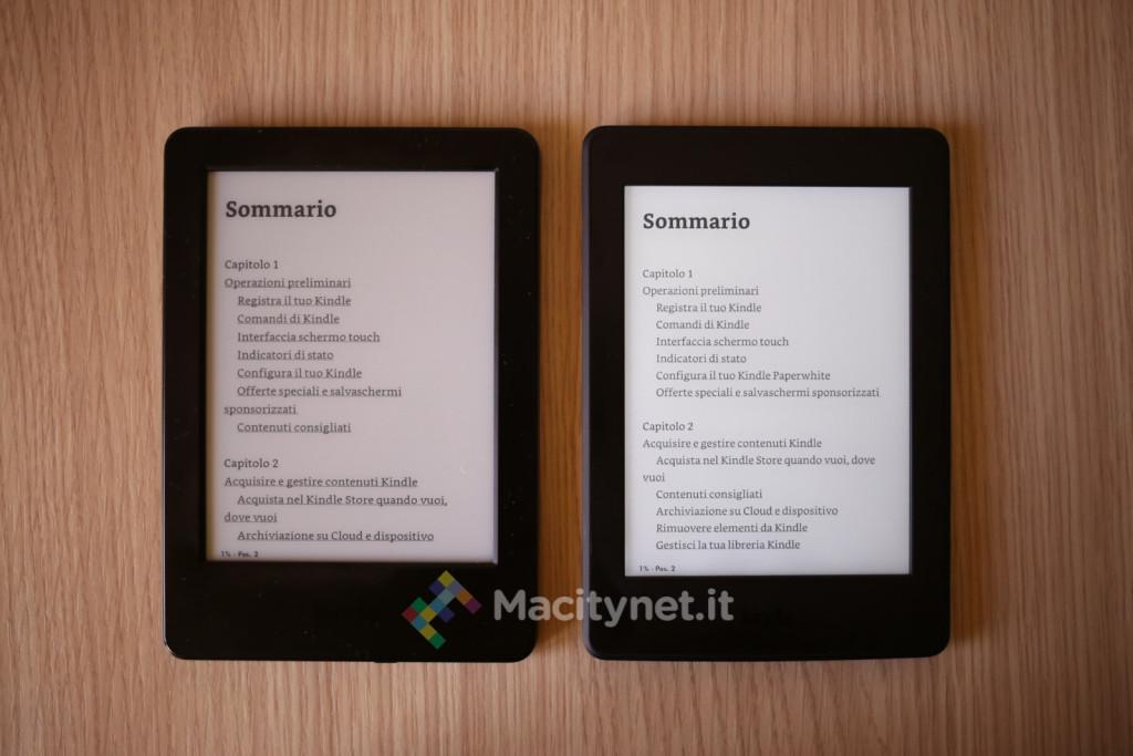 Kindle vs. Kindle Paperwhite