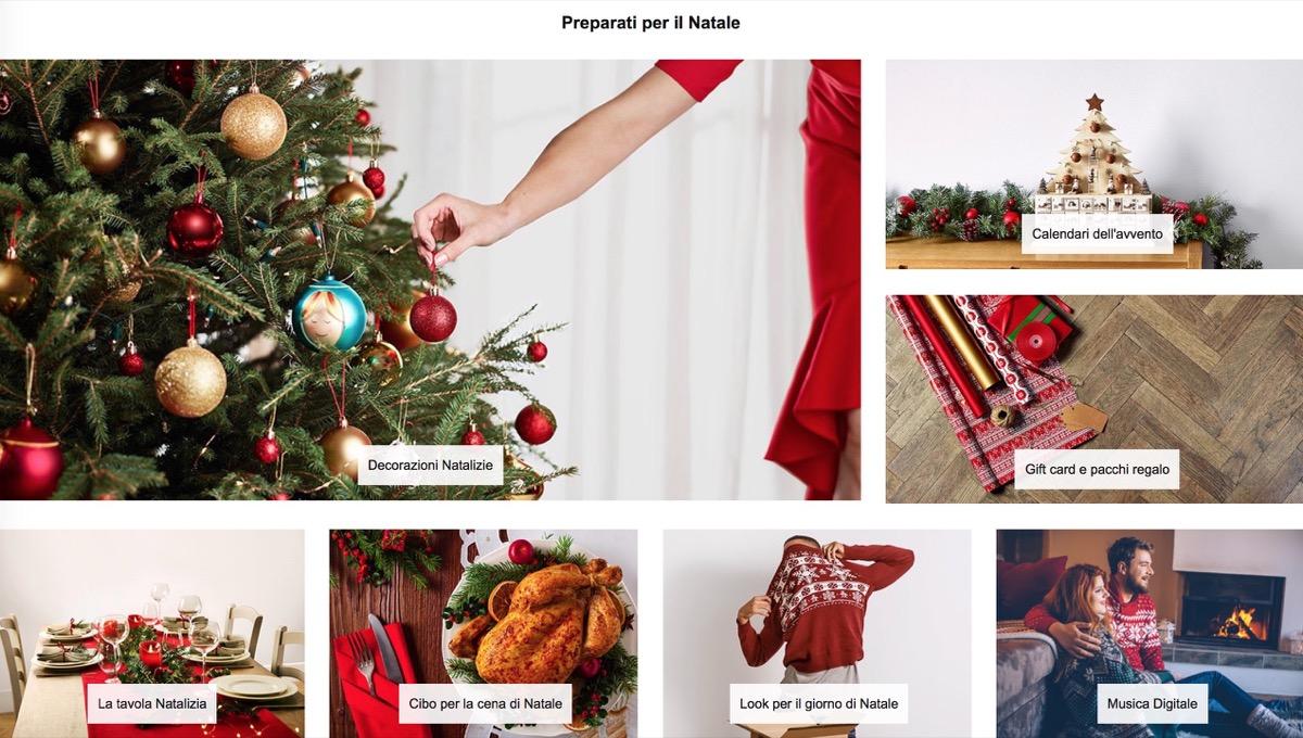 Apre il negozio di Natale Amazon, tra regali hi-tech e decorazioni Made in Italy