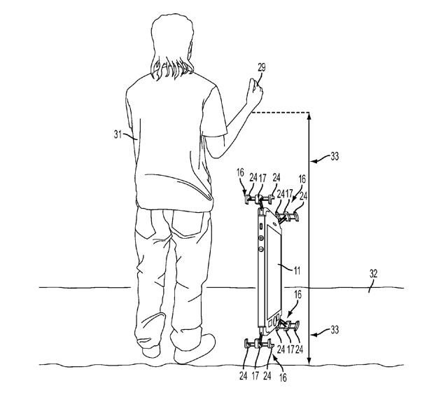 anticaduta iphone brevetto 620