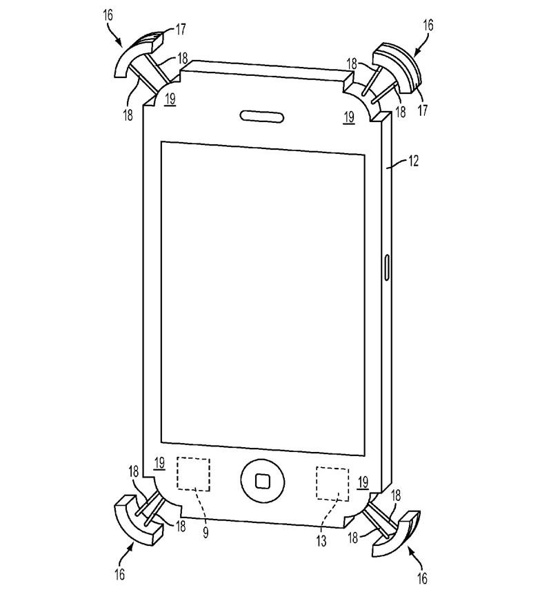 anticaduta iphone brevetto apple 1200