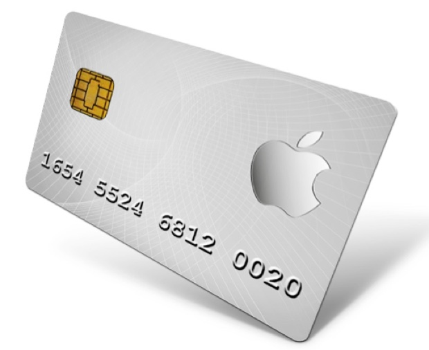 apple credit card money