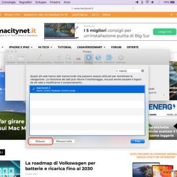Come disattivare le notifiche push di Safari su Mac