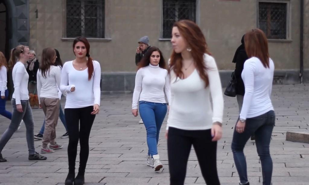 espero Flashmob Violenza sulle donne 2