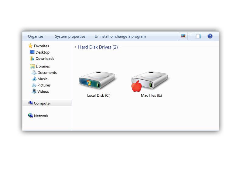 leggere dischi Mac da PC con Windows