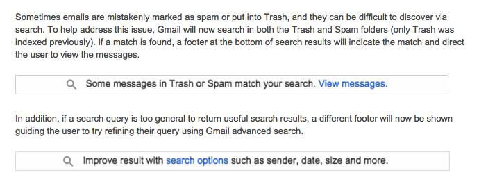 gmail ricerca in spam