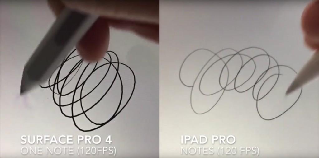 iPad Pro brucia Surface Pro 4 1200 1