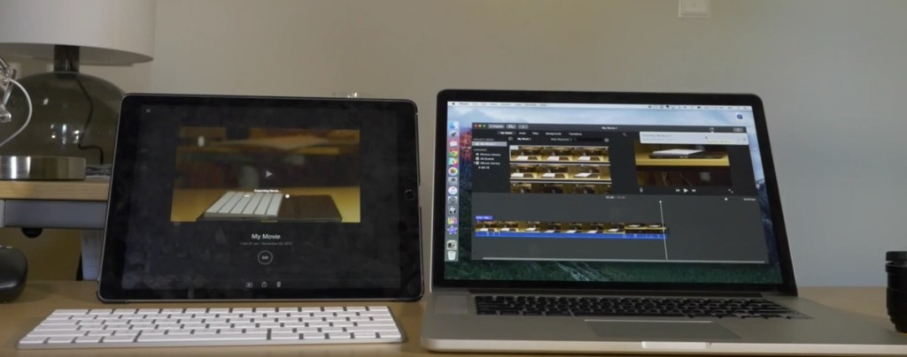iPad Pro contro MacBook Pro 1200 1