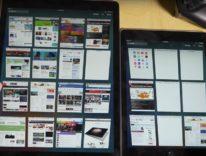 iPad Pro contro iPad Air 2, un altro pianeta nella navigazione Safari