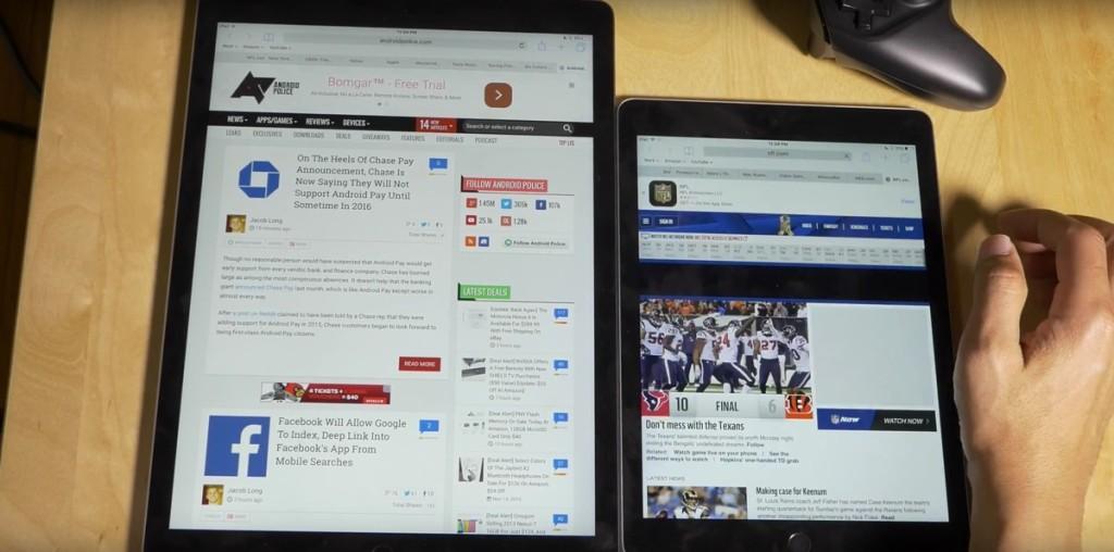 iPad Pro contro iPad Air 2 1200 2