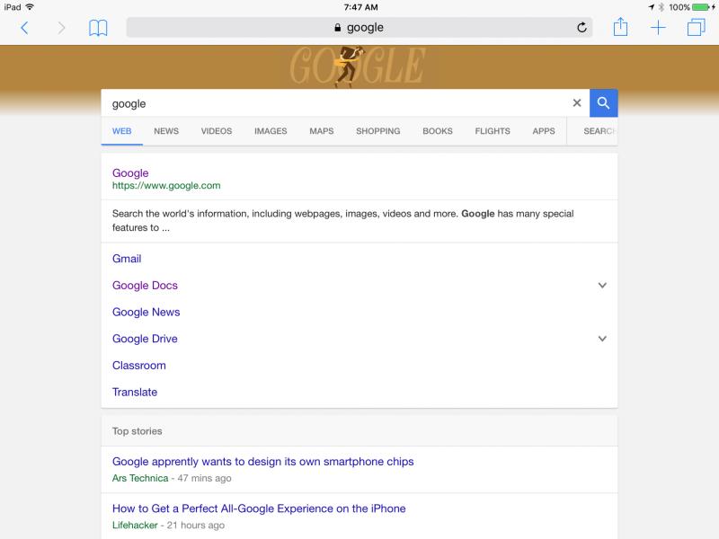 interfaccia per i risultati di ricerca su tablet-2