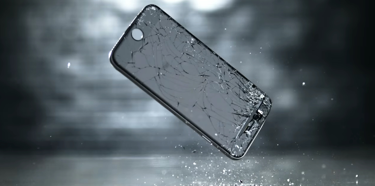 iphone in frantumi