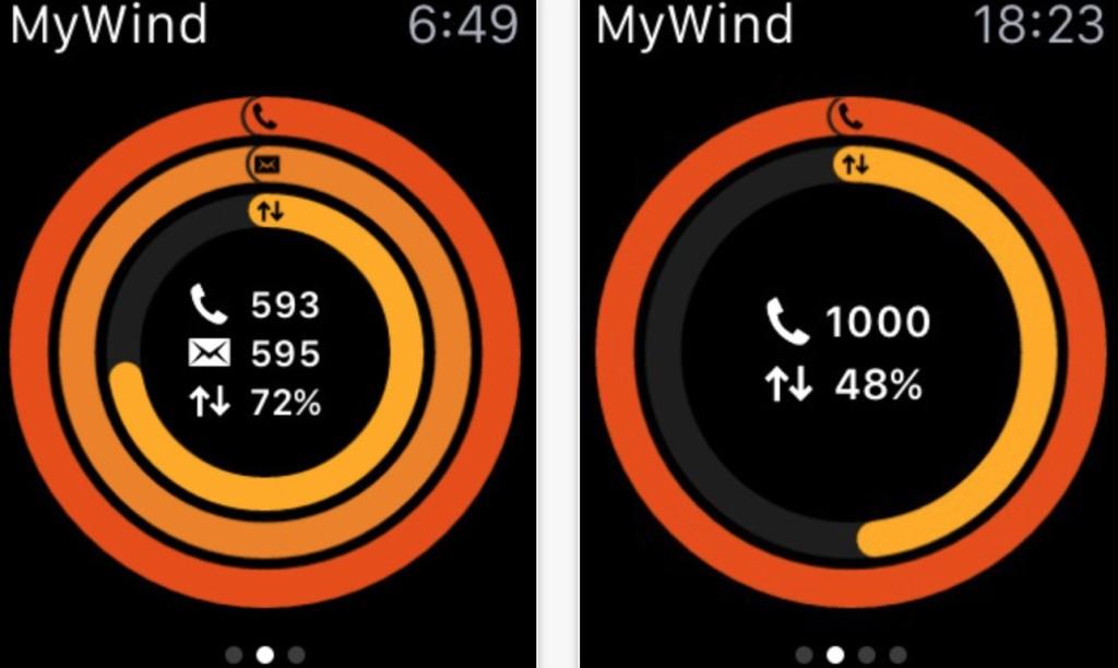 mywind Apple Watch