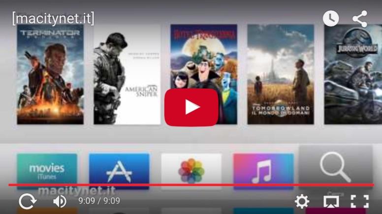 Apple TV 2015 Italiana