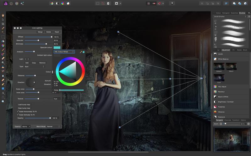 Affinity Photo migliori software per Mac del 2017