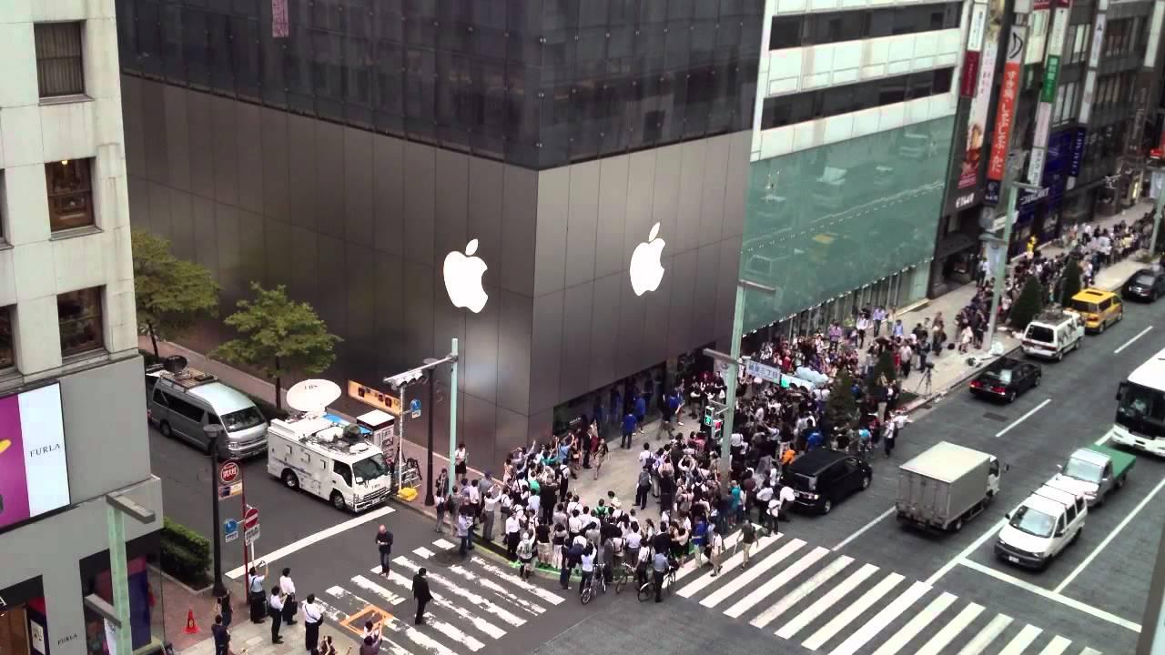 Apple paga 105 milioni di euro al fisco in Giappone - Apple store ginza