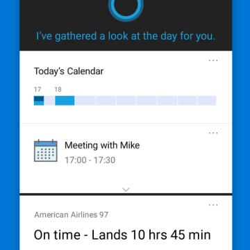 Cortana e disponibile 3