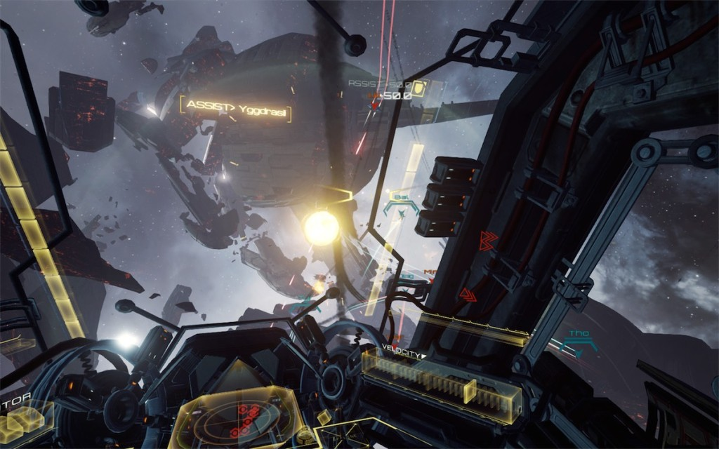 EVE Valkyrie screenshot_flakcannon