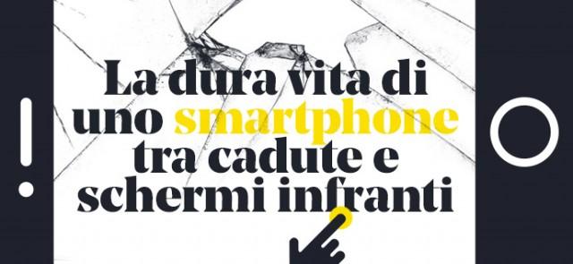 Schermo rotto di iPhone