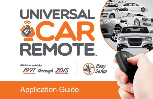Universal Car Keys
