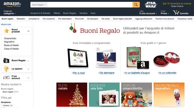 Regali di Natale con Amazon 1