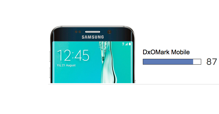 Samsung Galaxy S6 edge plus dxomarked