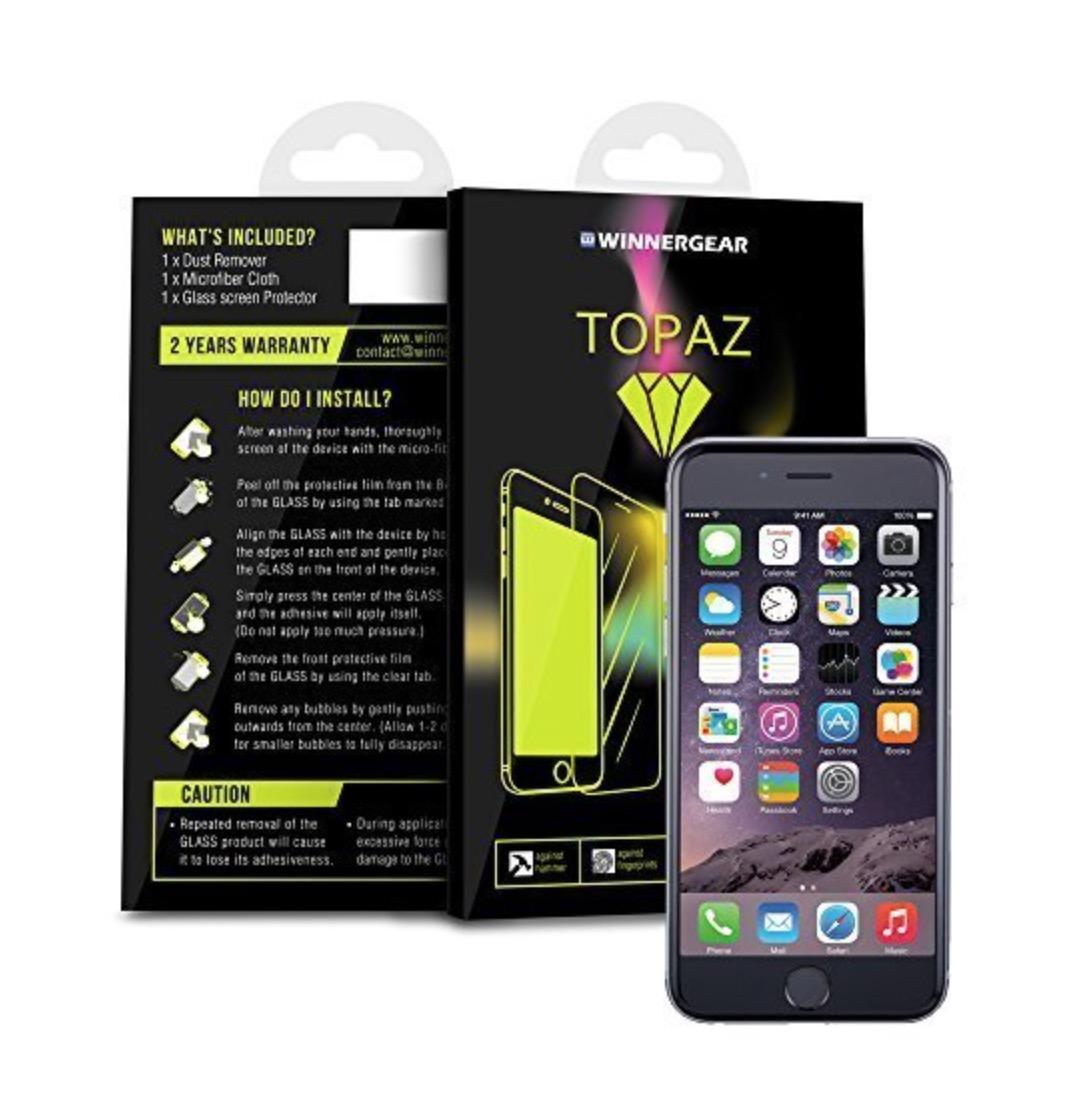 Domani ultimo giorno di sconto su Topaz, la miglior pellicola un vetro per iPhone 6 e 6 Plus