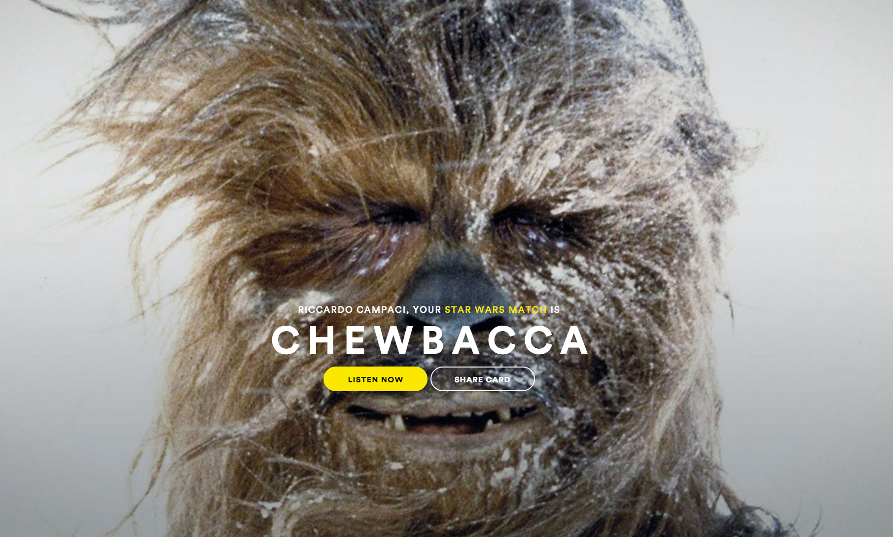 Spotify Star Wars