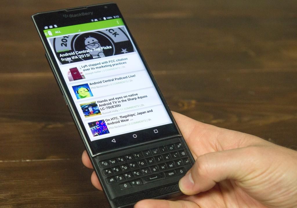 blackberry priv in Italia 1200