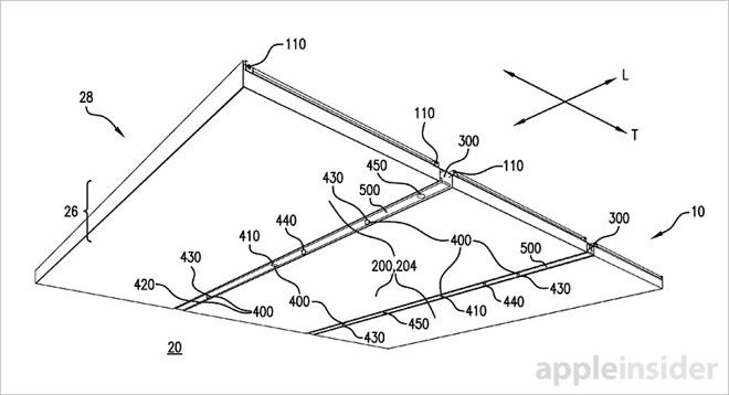 illuminazione smart brevetto apple store