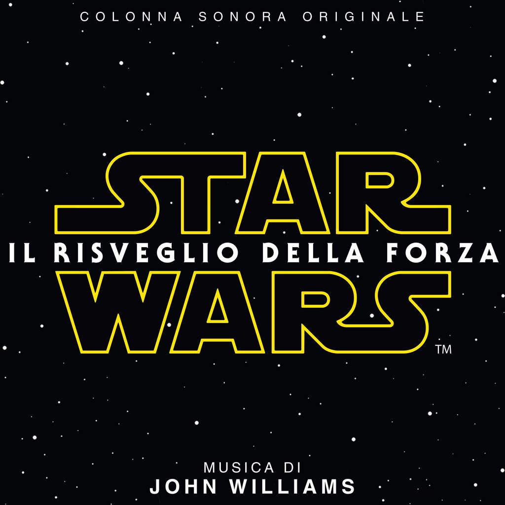 colonna sonora di Star Wars Il Risveglio della Forza 1