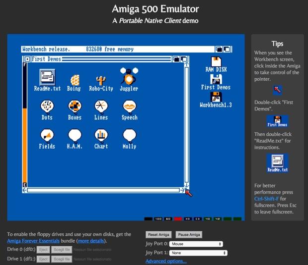 commodore amiga emulator chrome 620 2