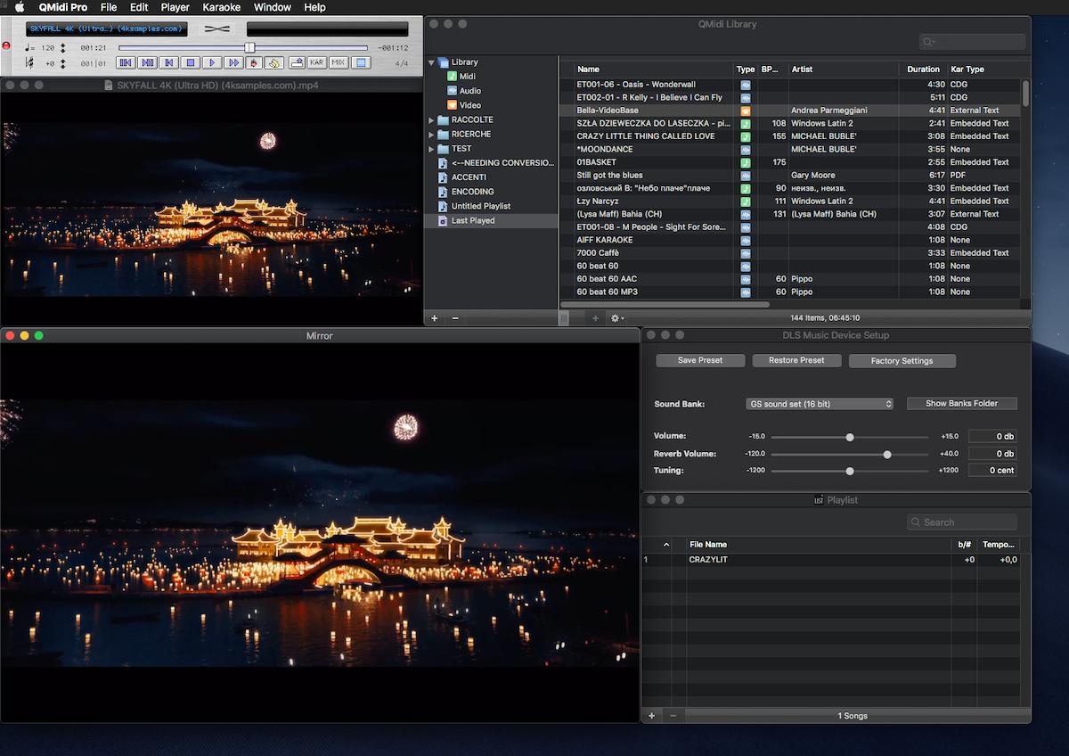 QMidi 2.5: il software per Midi e Karaoke su Mac diventa ancora più potente