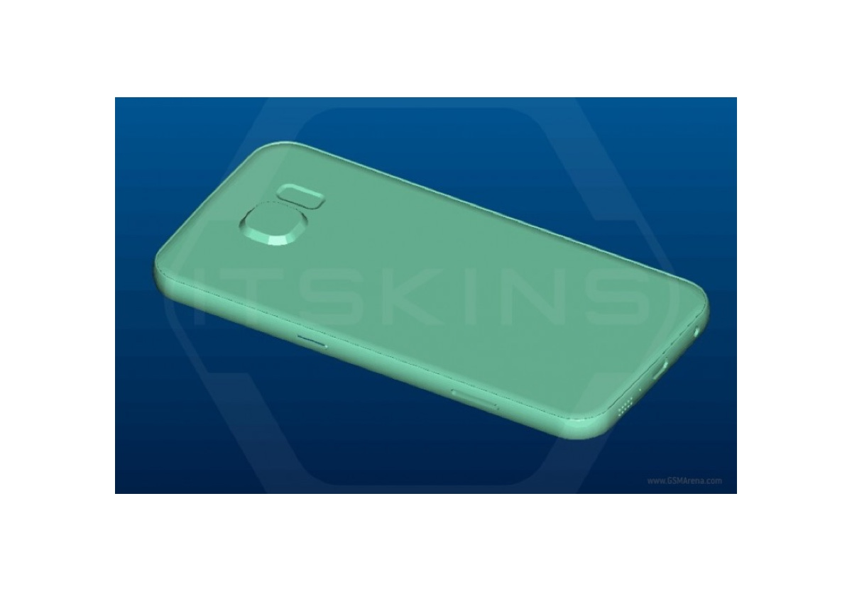 render di Samsung Galaxy S7 2